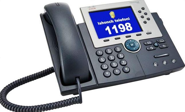 davlat organlari ishonch telefonlari